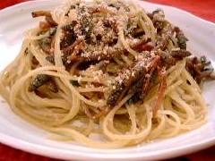 つくしのスパゲッティ